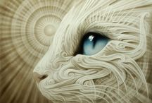 Art devoted to Cats
