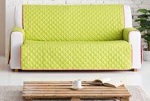 Fundas cubre sofas / Selección de fundas cubre sofas, prácticas y cómodas fundas ideales para decorar y proteger de manchas nuestros sofas.