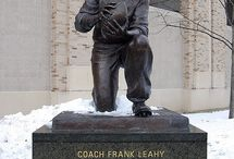 Greatest College Football Coaches of All-Time / College football's greatest coaches! Photos, football tickets of games they coached in, videos, and interviews with the best college football coaches of all-time. Bear Bryant, Frank Leahy, Barry Switzer, Tom Osborne, Nick Saban, and the other winningest college football coaches of all-time. Best college football coaches in the history of college football. / by 47 STRAIGHT™