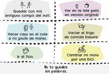 Casa de las palabras. Enseñanza del Español como lengua extranjera. ELE / Spanish learning. ELE. Enseñanza del español como lengua extranjera