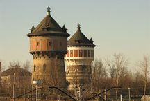 WATER TOWERS / by Lluckybird