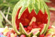 animais de frutas