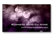 Business Cards : Bokeh Pattern / most of these are from me - CLICK ON THE LARGER IMAGE TO SEE PRICING INFORMATION - -