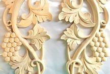 drevene ornamenty