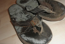 Mileage Plus / Sandals that have walked many many miles