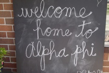 alpha phi  / by Alexis Villarreal