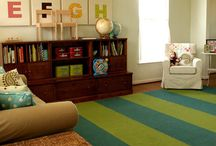 Playroom / Converting our living room into a playroom for Gianluca & friends! / by Roxana Vasquez