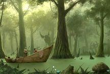 Morrowind landscapes