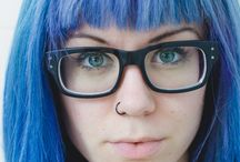 Haircolor / Manie panic: shocking Blue, Rockabilly Blue
