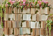 Casamento booklovers / Tendências, ideias e inspirações para noivos apaixonados por livros.