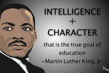Celebrating Martin Luther King Jr. / ideas for PTAs and PTOs to celebrate Martin Luther King Jr. at school