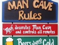 Getting the man out of the house / Man cave ideas