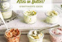 Saucen,Dips und Butter