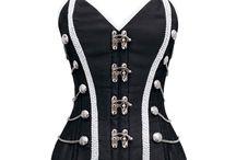 Moda steampunk / Moda steampunk, corsetto militare