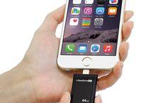 PhotoFast i-FlashDrive EVO / Introducing the i-FlashDrive EVO. The World's first USB 3.0 drive for iPhone and iPad.