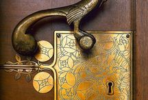 TPI   Vintage Door Furniture and Ironmongery / Unusual and beautiful vintage original and reproduction door furniture and ironmongery