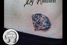 diamant tatuering