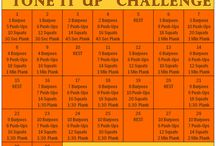 Fitness Challenges / by He and She Eat Clean