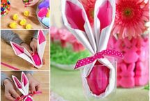 Easter Napkin Folds
