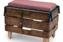 KISTJES/woden box / Hergebruik oude kistjes. / by Marie-Andree van Iersel