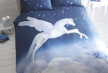 Unicorn Bed Covers And Pillow Cases