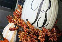 Halloween-Fall Crafts