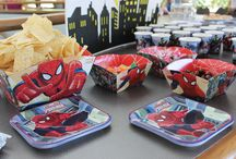 A 1 Year Old's Superhero Party / These are some ideas for a kid's superhero themed birthday party.