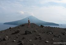 Mountains and volcanoes / it's all about mountains and volcanoes in Indonesia!