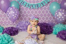 Sylvie-Joy's First Birthday Stuff