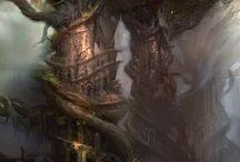 Epic Fantasy Worlds