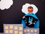 Bitty's 3rd Birthday party!! Super Heros of course! / by Jen Christopher