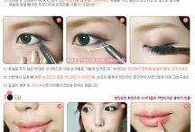 Make-up Korean ecc...