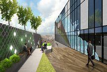 Oficinas: terrazas