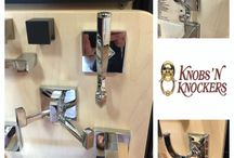 Bath Hardware / This board showcases Knobs 'N Knockers' unique line of #bathhardware designs and accessories.