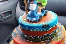 Aboriginal cake designs