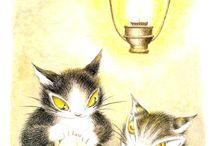 Wachifield - Dayan the Cat by Ikeda Akiko