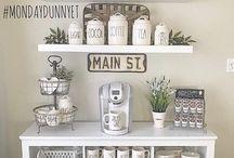 2018:   Coffee corner
