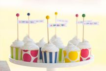 Cupcake and Cake Ideas / Two of the most important sweets at your party! For more on party themes, DIY décor and great deals, visit us at inspiredparties.weebly.com!