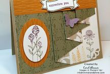 SU Autumn Traditions DSP / Cards and projects made with Stampin' Up! Autumn Traditions Designer Series Paper (DSP)