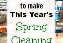SPRING CLEANING!!!!!!!!!!!!!!!!!!!!!!!!!! / by Sherri Truett