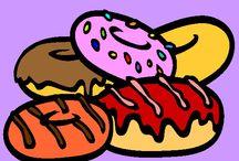 National Doughnut (Donut) Day / Doughnut Crafts, Recipes, DIY Decor