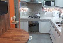 piso da cozinha
