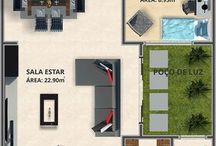Planta baixa // Ideias // Casas