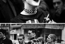 Punk, skin, mod