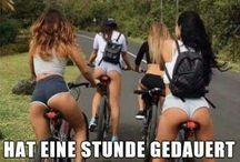 Biciklis csajok