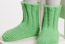 scarpe di lana