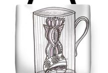 cat on a mug