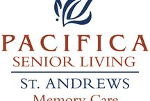 St. Andrews Memory Care / Situated in Portland's quaint southeast neighborhood, Pacifica Senior Living St Andrews offers full-service memory care programs, providing a warm, inviting and familiar environment for residents with Alzheimer's disease and other forms of dementia. Our community focuses on programs that help individuals with memory loss to —even thrive—while managing the issues of dementia.