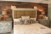 Master Bedroom Ideas / by Jillian Shepard