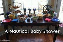 Baby Shower - nautical